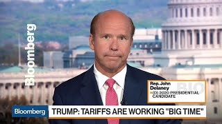 Rep. Delaney on 2020 Presidential Run, Trade, Economy