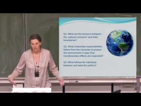 """Where is the Natural World in our Understanding of Citizenship?"" by Prof. Dr Andrea Lenschow"