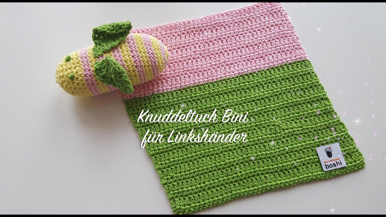 Babydecke häkeln - Kuscheldecke häkeln - Knuddeltuch Bini ...