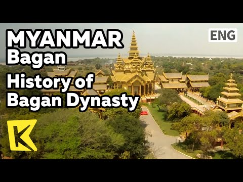 【K】Myanmar Travel-Bagan[미얀마 여행-바간]바간왕조 역사/History of Bagan Dynasty/Carriage/Beautiful scenery/Palace