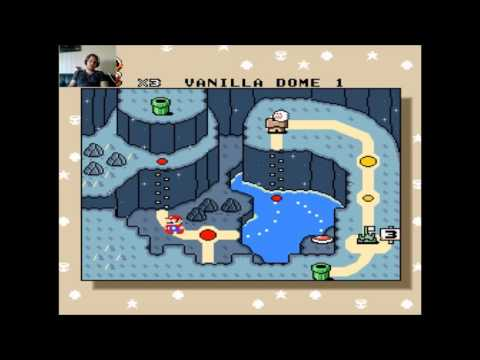 Super Mario World #4 - Vanilla Dome 1 & Vanilla Secret 1 - [Norsk]