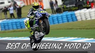 BEST OF WHEELING MOTO GP 2018 • Rossi 46 Marquez 93 Lorenzo 99
