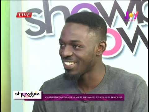Ghanaian Comedians Khemikal And Waris 'Crack Ribs' In Nigeria - Showbiz Now (13-6-19)