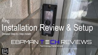 NEW 2016 Ring Video Doorbell Pro Review & Installation