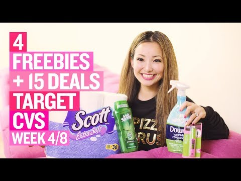 ★ 4 FREEBIES + 15 Target & CVS Coupon DEALS (Week 4/8 – 4/14)
