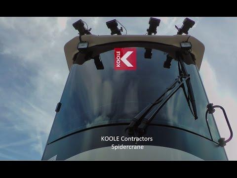 KOOLE Contractors Spidercrane