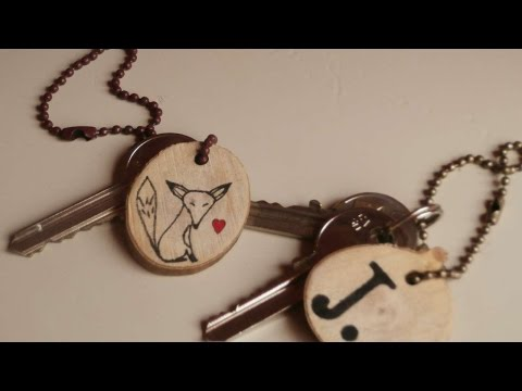 How To Make A Personalised Wooden Keychain - DIY Style Tutorial - Guidecentral