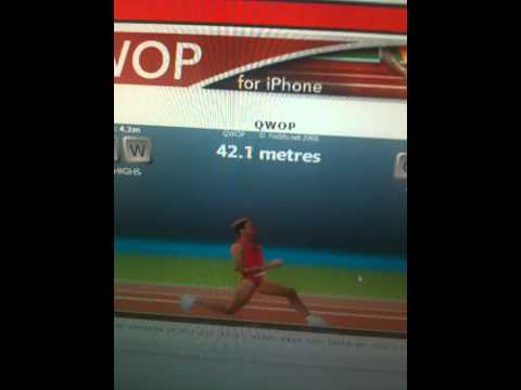 QWOP - The Worst Running Game Ever