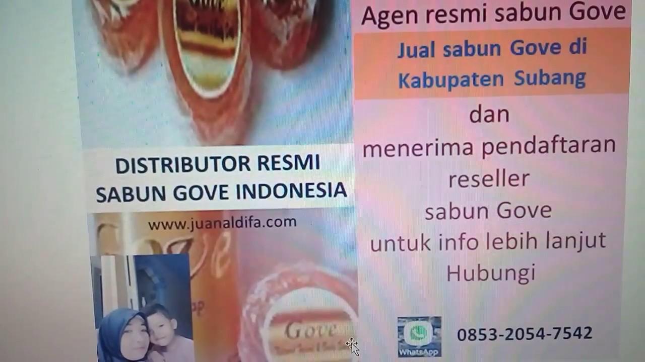 Agen Sabun Gove Binong Subang Jawa Barat Wa 085320547542 Youtube Free Member