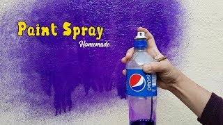 How to Make Simple Air Paint Spray for Car & Bikes