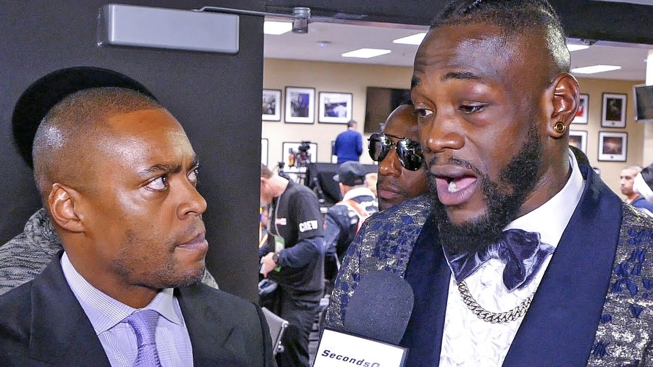 Download Deontay Wilder REACTION after DRAW RESULT with Tyson Fury.
