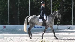 Clear Dawn - Junior European Championships 2015 dressage