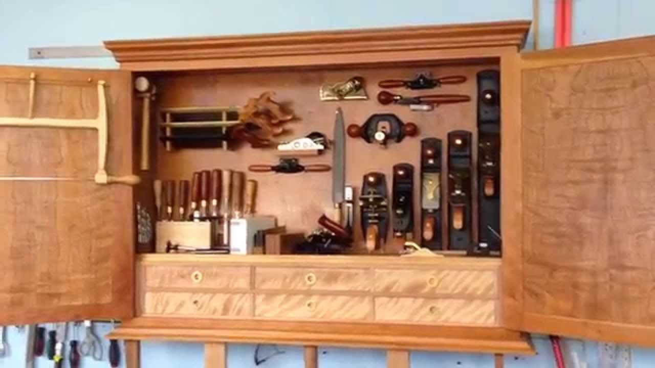 Hand tool cabinet part 2 - YouTube