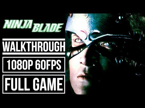 NINJA BLADE Gameplay Walkthrough FULL GAME No Commentary 1080p 60fps