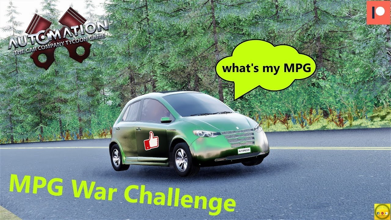 Automation Mpg War Challenge Rules