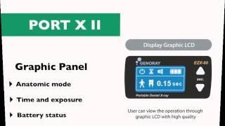PORT-X II - портативный высокочастотный рентгеновский аппарат | GENORAY (Ю. Корея)(, 2015-03-15T12:00:12.000Z)