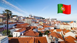 A walking tour of Lisbon, Portugal 🇵🇹 we walked 22 km in 1 day!