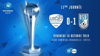 J11 | US Créteil Lusitanos - USL Dunkerque (0-1), le résumé | National FFF 2019-2020