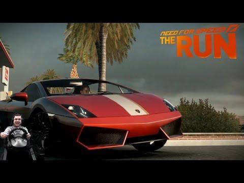Заварушка в Лас-Вегасе Aston Martin V12 Vantage Need for Speed: The Run на руле Fanatec Porsche GT2