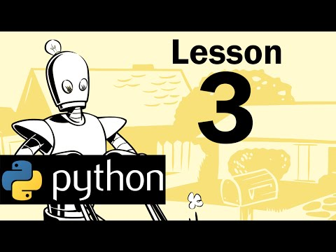Lesson 3 - Python Programming (Automate the Boring Stuff with Python)