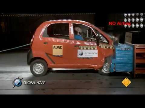 Tata Nano scores zero stars in Global NCAP crash tests