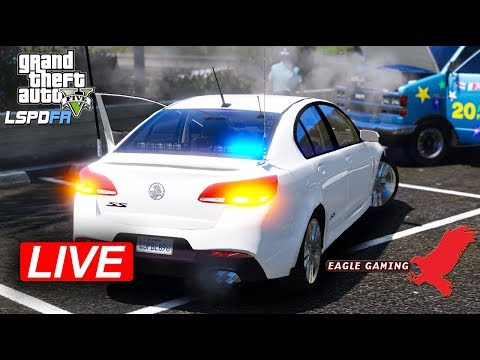 GTA V | Australian LSPDFR Live! | Los Santos Undercover Patrol in the NSW Unmarked VF SS