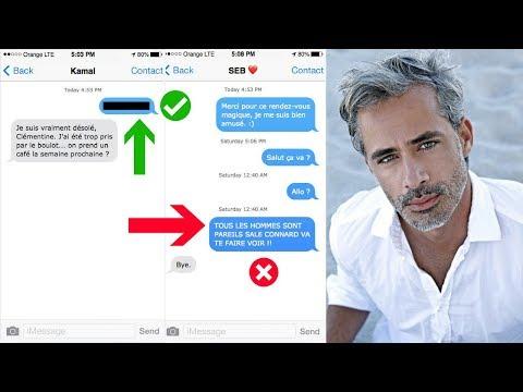 3 SMS EFFICACES POUR RELANCER UN HOMME QUI FAIT LE MORT