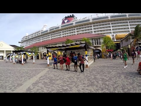 Falmouth Jamaica Cruise Port via Royal Caribbean Allure of the Seas (HD)