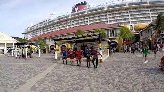 Falmouth Jamaica Cruise Port via Royal Caribbean Allure of the Seas (HD)