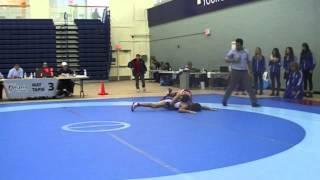 2014 Ontario Junior Championships: 55 kg Bronze Chris Waltner vs. Sam Jagas