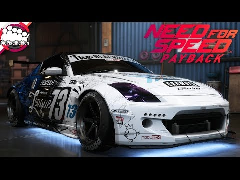 NEED FOR SPEED PAYBACK - Nissan 350Z - Driftbuild - NFS Payback Carbuild