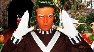 Oompa Loompa - Willy Wonka - Makeup Tutorial!