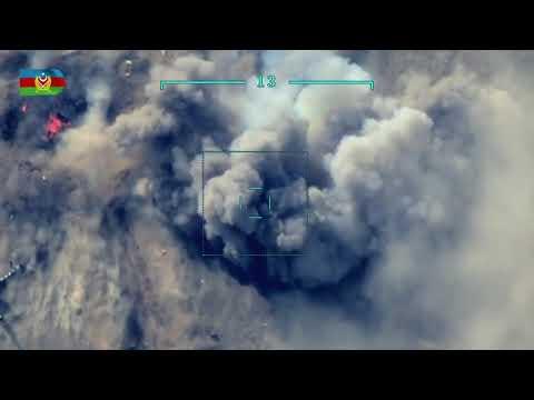 Как дронами уничтожается военная техника армян в Карабахе