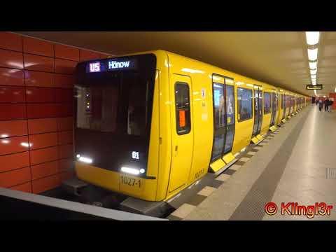U-Bahn Berlin - Ik-Züge auf der U5