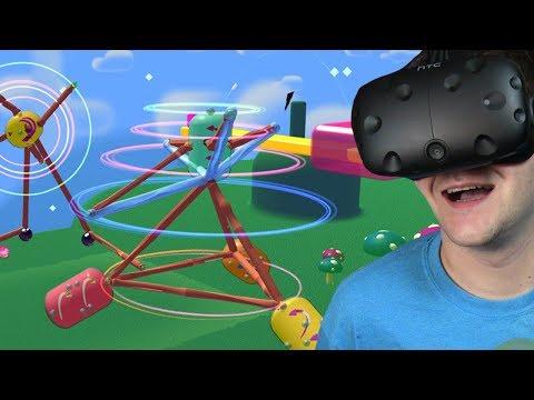 TWORZYMY WYNALAZKI I MACHINY - Fantastic Contraption (HTC VIVE VR)