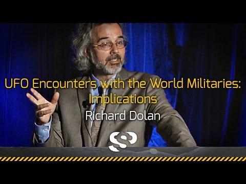Richard Dolan at the  Secret Space Program Conference, 2014 San Mateo
