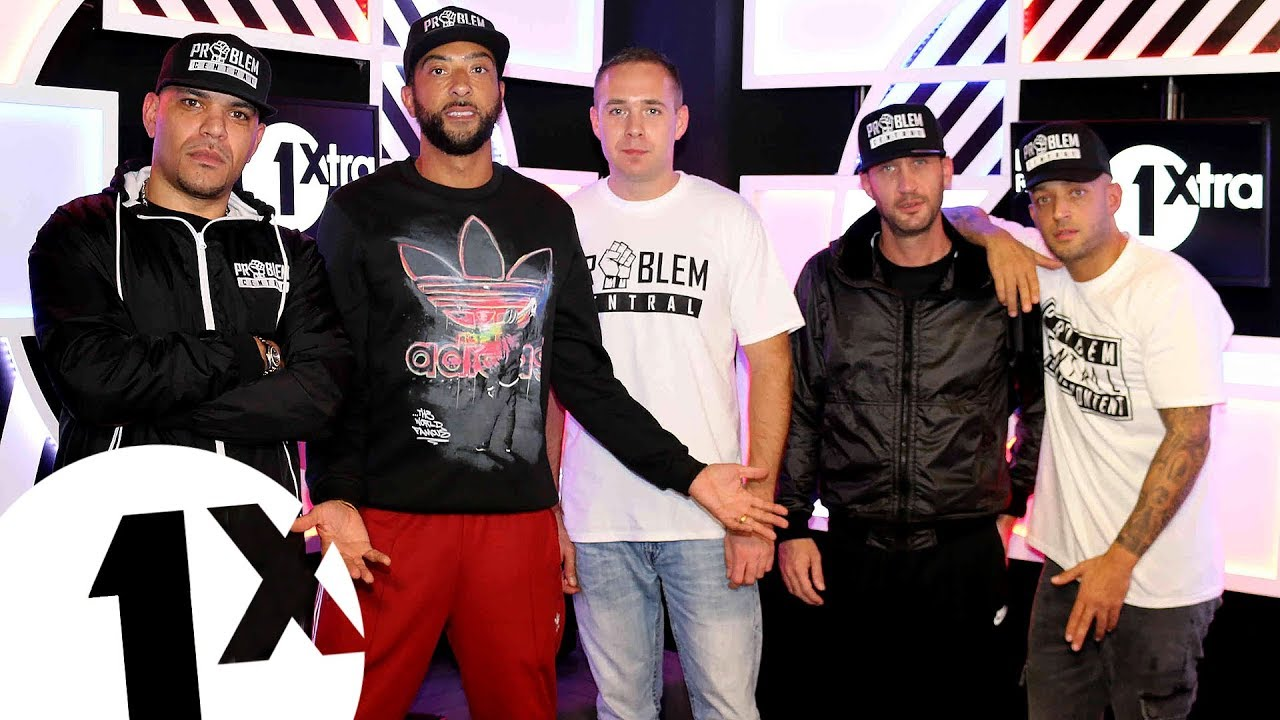 Problem Central Team Takeover for DJ Target on 1Xtra