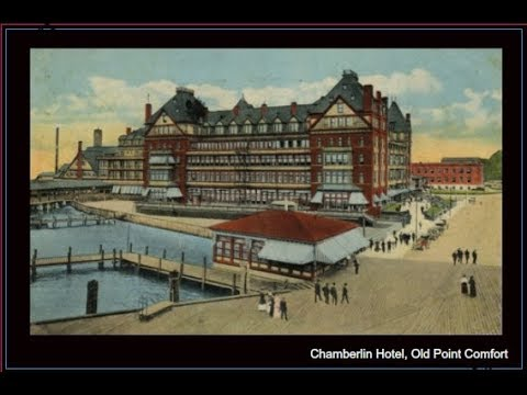 Historic Hampton Roads Seaside Hotels Circa 1901