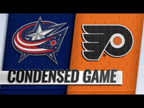 12/22/18 Condensed Game: Blue Jackets @ Flyers