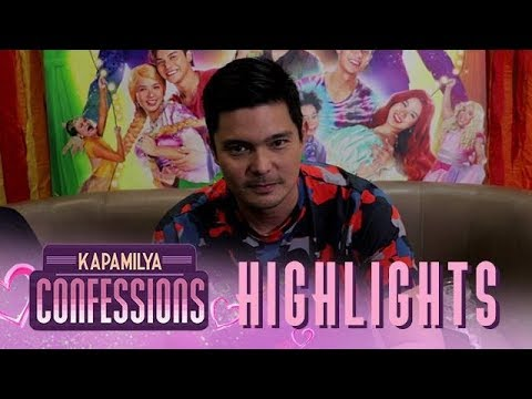 "Kapamilya Confessions Highlight: Dindong Dantes takes the ""Complete the Sentence"" Challenge - 동영상"