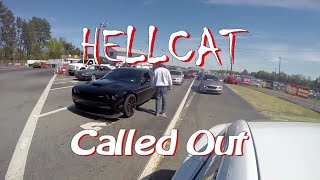 Ludicrous Tesla takes down multiple Hellcat Challengers Drag Racing! thumbnail