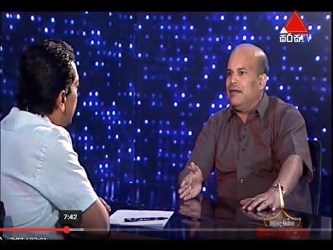 Milinda Moragoda - Niyamarthaya TV Talk Show -  Sri Lanka's Health Sector
