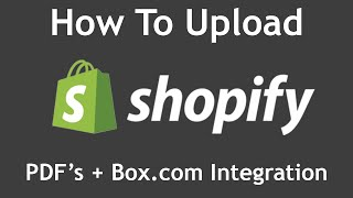 How To Upload and Display PDF's On your Shopify Store (Also: Embed Box.com Folder On Shopify Page)