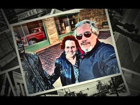 Standin' on a Corner~Gregg & Marielle in Winslow, AZ