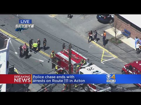 Police Chase Ends With Arrests On Route 111 In Acton