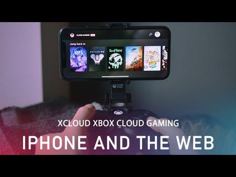 Как работает xCloud в браузере на PC и на iOS – видео