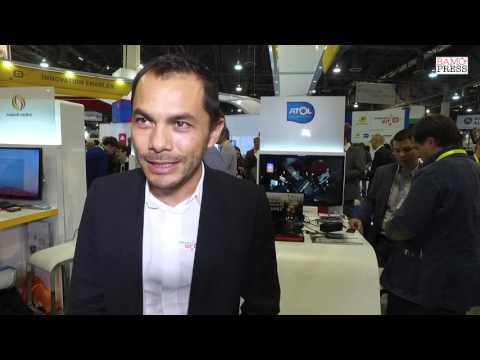 Atol Les Opticiens - Fabrice Obenans French Interview - CES 2016 - BAMG Press