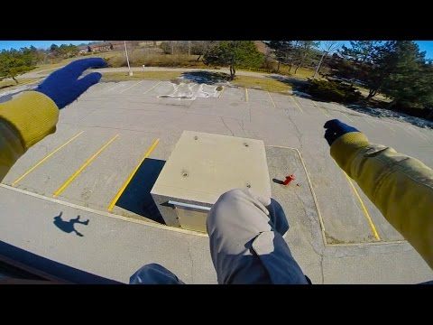 Incredible First Person Rooftop Parkour