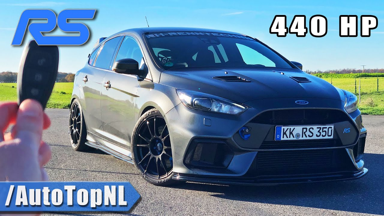 440HP FORD FOCUS RS MK3 REVIEW on AUTOBAHN by AutoTopNL