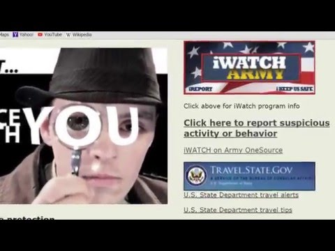 U.S. Army Europe Vigilance Message